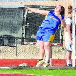 Emily Cornelison has the best throw in the shot put among Division IV schools. (Photo courtesy of Bill Harris)