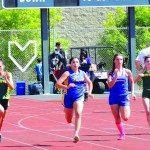 Mustangs Perform Well at Region Track Meet