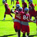 Rebels Prepare in Ely for 2013 Football Season