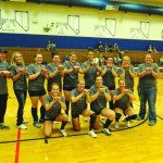 The White Pine High varsity volleyball team won the White Pine Invitational last weekend. (Photo courtesy of B.J. Almberg)