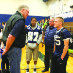 Ex-NFL player inspires students