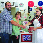 Bruce Setterstrom and Pat Setterstrom sold All American Pizza to JaNeal Mathews. (Lukas Eggen photo)