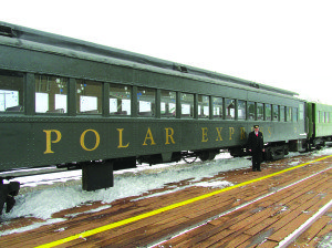 The Nevada Northern Railway offers a chance for families to visit the North Pole during the Polar Express trains in December. (Photo courtesy of the Nevada Northern Railway)
