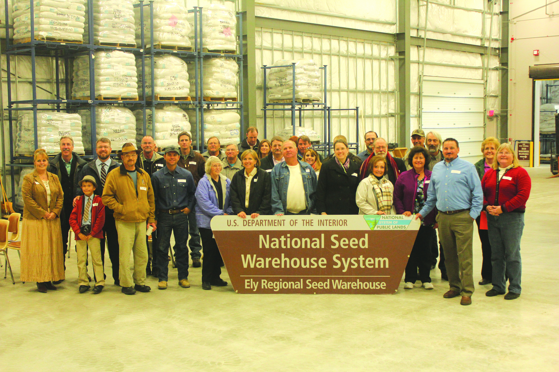 BLM opens new seed warehouse in Ely