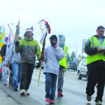 Native Americans retrace historic walk