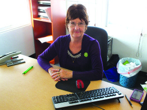 Sandy Kelsey owns and operates the Ely H&R Block office. (Garrett Estrada photo)