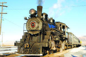 The Northern Nevada Railway raised over $100,000 in one month.  (Courtesy photo)