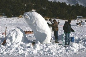 The annual Fire & Ice celebration takes place this weekend at Cave Lake. (Courtesy photos)