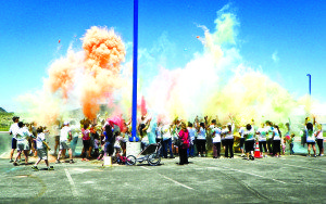 The Ely Outdoor Enthusiasts group hosts the annual Color Me Ely 5k and the Take it to the Lake Half Marathon & 10k. (Photo by Teresa Stewart)