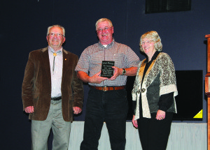 Andy McVicars awarded at last year's Volunteer Appreciation Day. (Courtesy photo)
