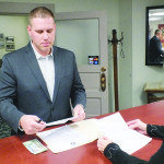Deputy District Attorney Michael Wheable files to run for White Pine County District Attorney. (Garrett Estrada photo)