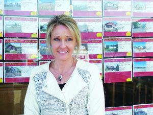 Kenna Almberg is the owner of Desert Mountain Realty in Ely. (Garrett Estrada photo)