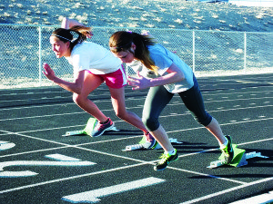 The defending state championship White Pine girl's track team took first place at their meet at Virgin Valley over the weekend.