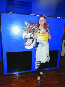 Fourth grade winnerL Elizabeth Little-Green