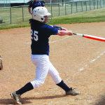 Softball splits home series, ends 10 game win streak