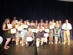 Garrett Estrada Photo Ely Rotary Club handed out 21 scholarships totaling $23,000 on Tuesday night to White Pine High School seniors as part of the school's annual senior awards night.