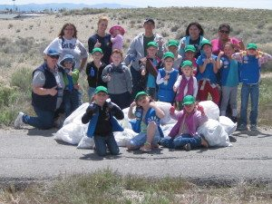 5-16 Girl Scout Cleanup