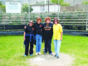 Garrett Estrada Photo Members of the McGill Revitalization group pictured left to right: Terri Curto, Ann Schroder, Stacy Laird and her sister Cynthia Laird.