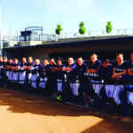 Softball places second in state
