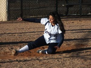 Softball slide 2