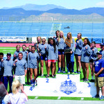 Girl's track repeats as state champions, boys team places third