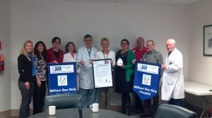 Courtesy photo Doctors, nurses and other employees at William Bee Ririe Hospital were honored for their practices.