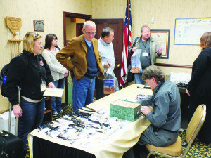 Garrett Estrada Photo Over 250 attendees for the Rural Roundup Convention poured into Ely on Wednesday to participate the the variety of tours and workshops.