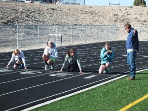 track prepares for home meet