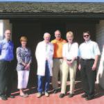 Pictured at the new Sanderling Dialysis Center is Burton Hilton, Julie Gianoli, Dr. Norman Christensen, Dale Derbidge, Jan Jensen and Mark Bybee. (Courtesy Photo)