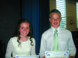 Elks Junior Students of Year-1