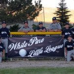 The White Pine All Star team consists of Jayden Brewer, Nate Adams, Kincade Waggener, Caleb Britton, Manger Joe Barnes, Coach Andy Britton, Coach Nick Lopez, Richard Sandoval, Phoenix Ball, Zach Chamberlain, Diego Gonzalez, Brock Lopez, Caden Tognoni, Konner Jensen and Gage Hayward (Courtesy Photo)
