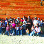 The Inner City Slickers travels the country to promote confidence in kids through exercises involving fear and horses. The program, held Saturday at the Sunnyside Ranch 30 miles south of Lund drew 52 participants. Teresa Stewart  Photo