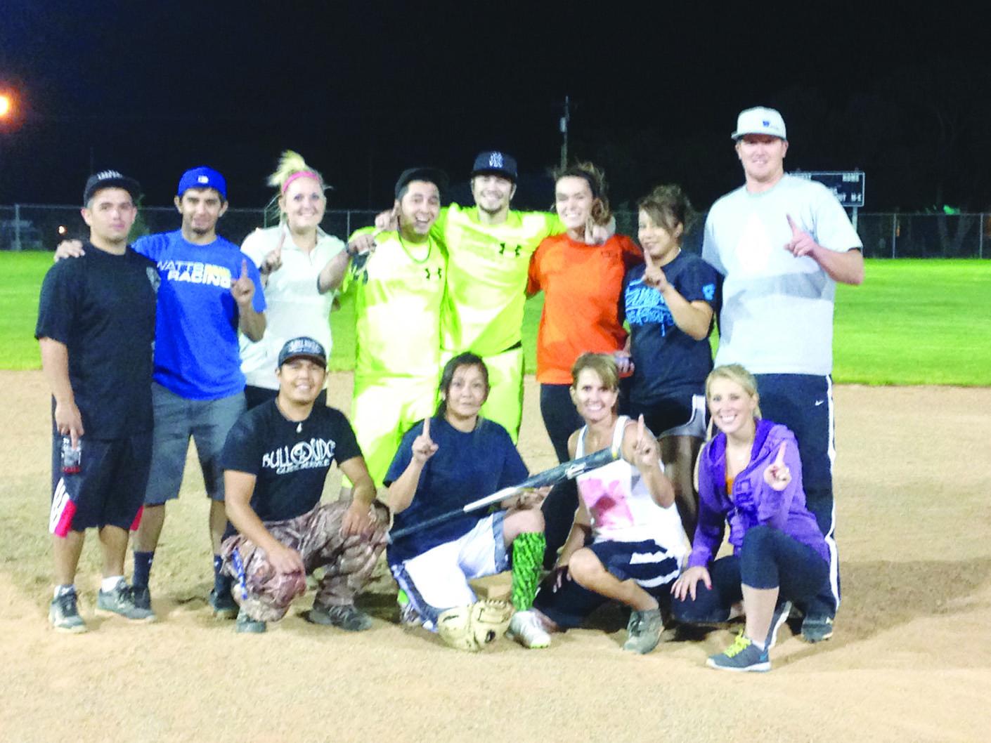 Ely Softball Champions
