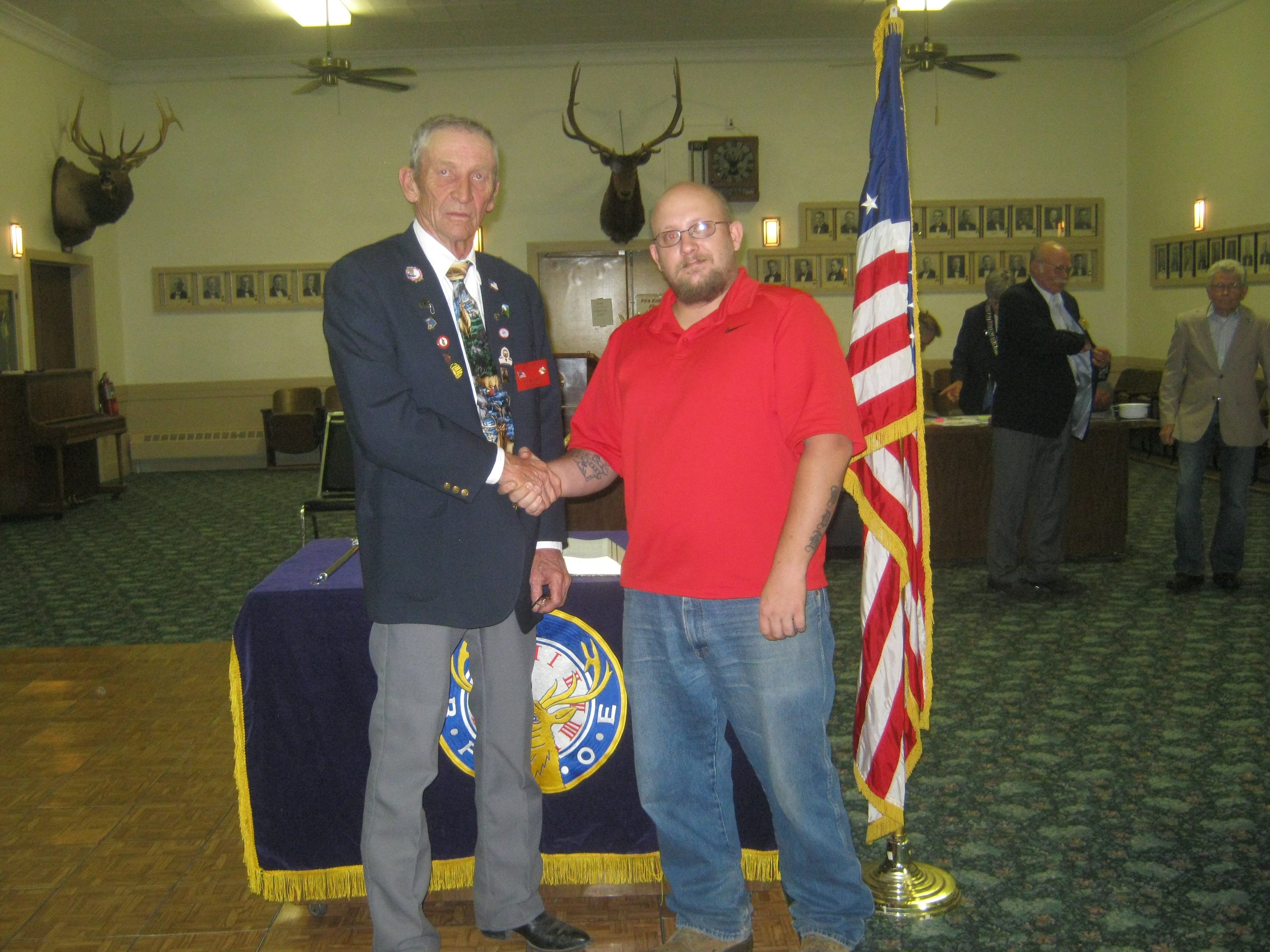 Elks Lodge New Member