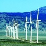 The Spring Valley Wind Farm consists of 66 turbines which produce enough power for 40,000 homes. (Courtesy photo)