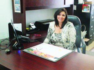 Financial Representative for Country Financial Christie Lane says she enjoys helping people plan for retirement. (Garrett Estrada photo)