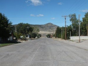 11th Street in East Ely is one of the roads laid out in Great Basin Engineering's plan for potential road narrowing to accommodate curbs and gutter. (Garrett Estrada photo)
