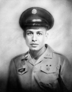 A portrait of Joseph Andrew Garcia, a war hero from White Pine County who died saving his platoon of American soldiers in Vietnam. (Courtesy photo)