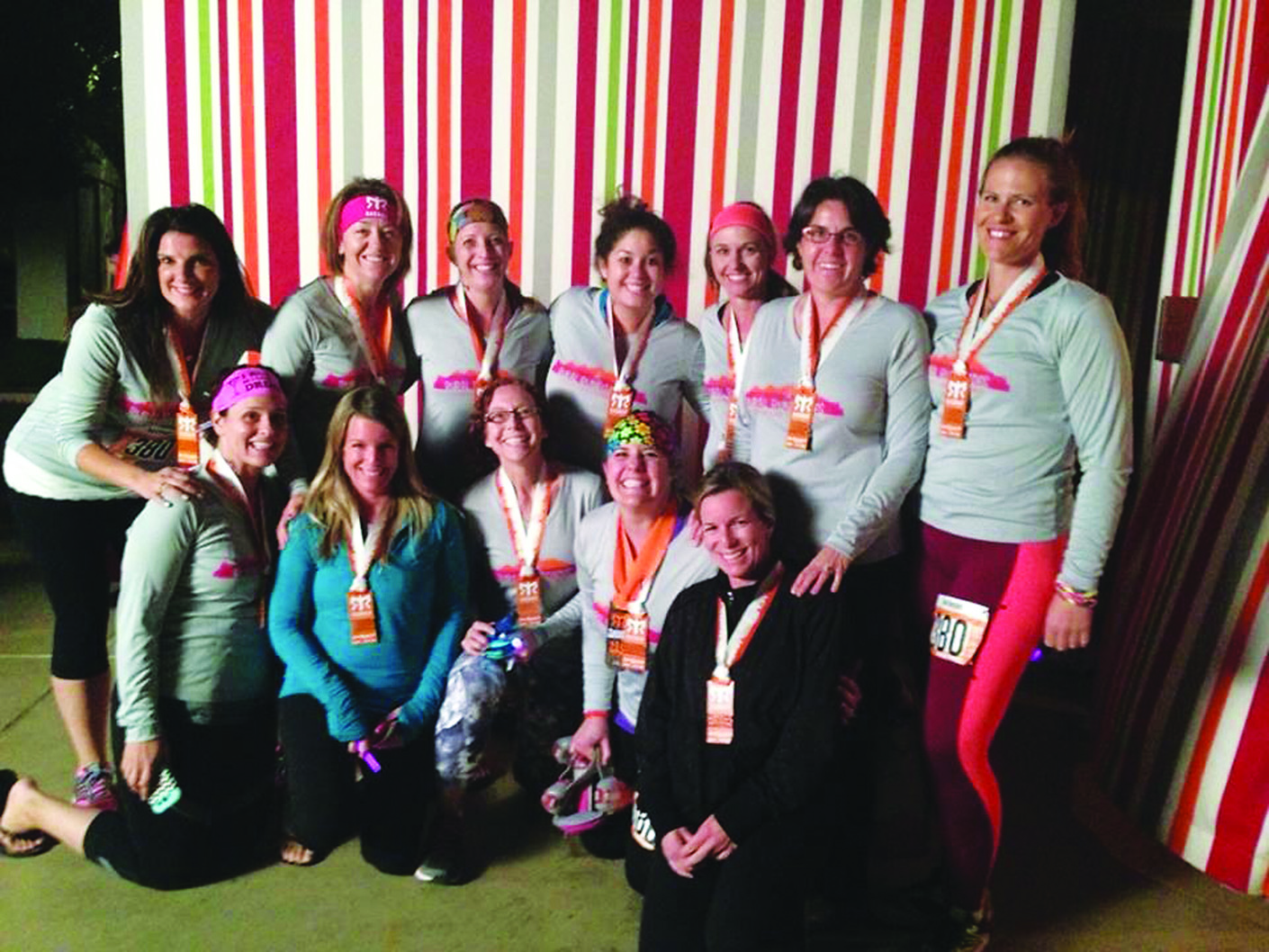 Running Club Raises Money For Local Charities The Ely Times Elko Current Relay Group Of 12 Women That Participated In This Years Ragnar Race Las Vegas