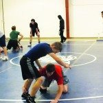 Wrestlers back on the mat