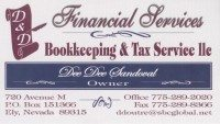 D&D Bookkeeping and Tax Services