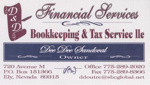 Dd bookkeeping and tax services reheart Images