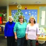 White Pine County Library employees pictured from left to right: Cindy Bell, Lori Williams and Lori Romero. Garrett Estrada photo