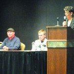 City candidates speak