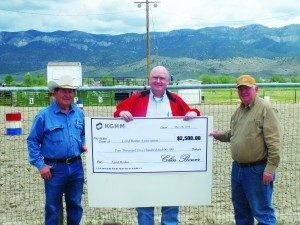 Lund rodeo donation