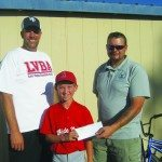 Elks donates to Little League