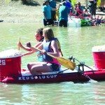 """The """"Red Solo Cup"""" is one of several fan favorite bathtub """"boats"""" expected to return to the """"Great Bath Tub Races"""" on June 27. (Garrett Estrada photo)"""
