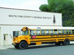 (Garrett Estrada photo) Finding enough school bus drivers has been just one of the challenges that the White Pine County School District faced over summer.