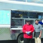 Son of food truck owner loves customers, cooking