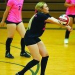 Ladycats volleyball team rolls at home, on road to 23-0